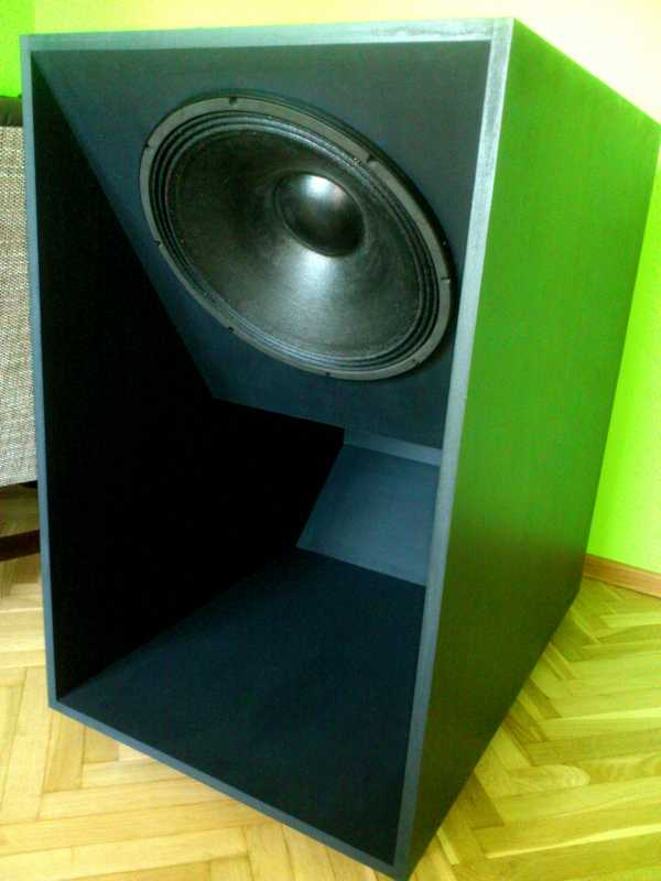 Hasil akhir box speaker Hog Scoop 18 Inch