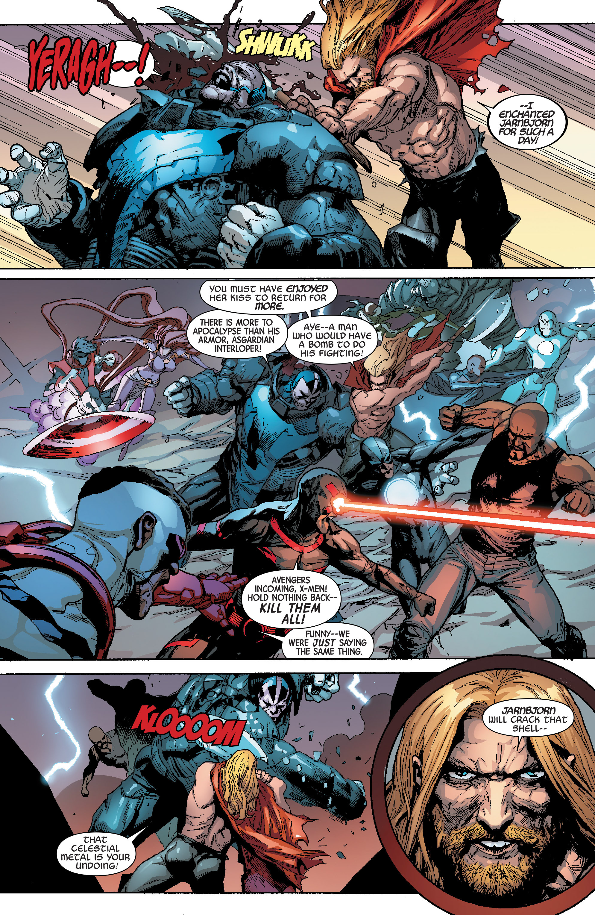 Read online Avengers & X-Men: AXIS comic -  Issue #8 - 9