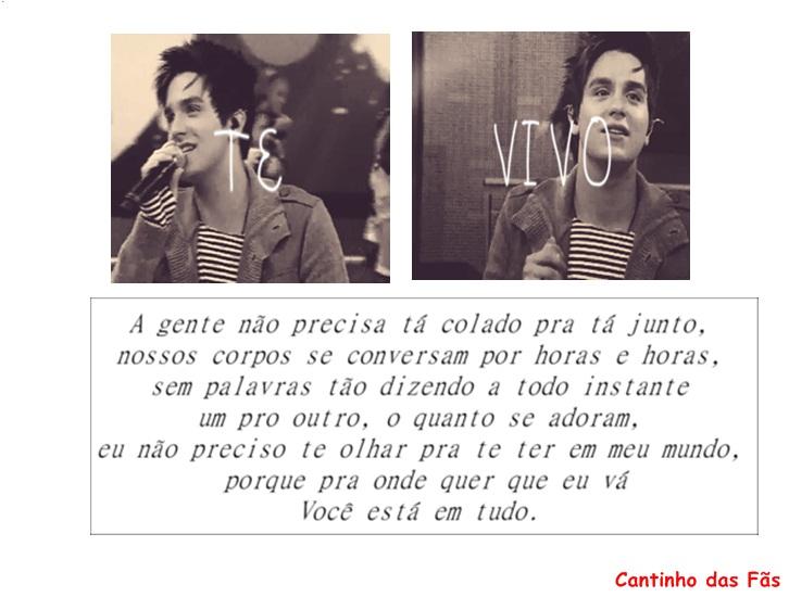 Frases Te Amarei De Janeiro A Janeiro Imagens De Amo 16: Love Luan Santana: Luan Santana Te Vivo