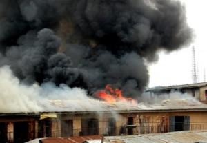 Fire Razes Benue Links Transport Company, Destroys Vehicles