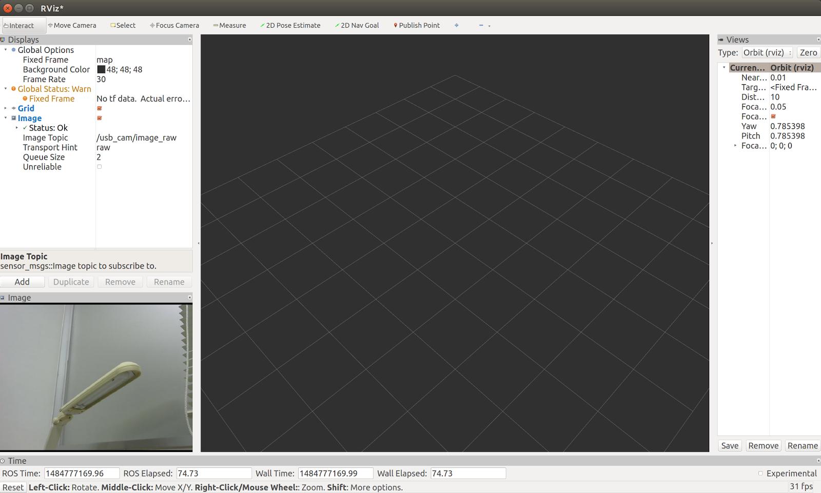 참고] ROS kinetic에서 WebCam 사용하기 (Ubuntu 16 04