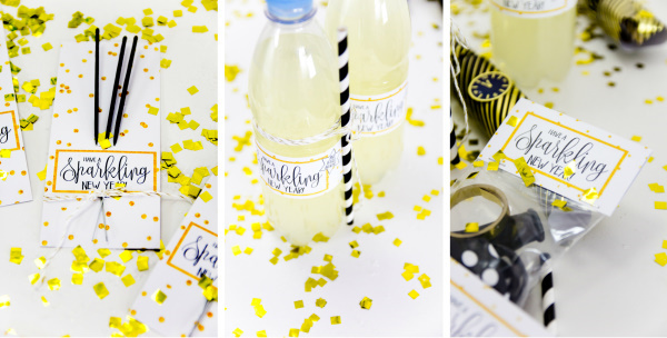 Party DIY Freebies: Drei tolle Printables für die beste Silvesterparty ever! - titatoni.de