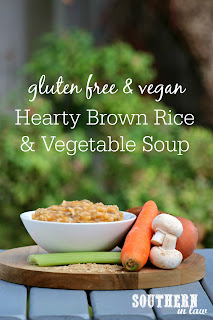 Healthy Brown Rice and Vegetable Soup Recipe