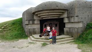 bunker da segunda Guerra na Normandia