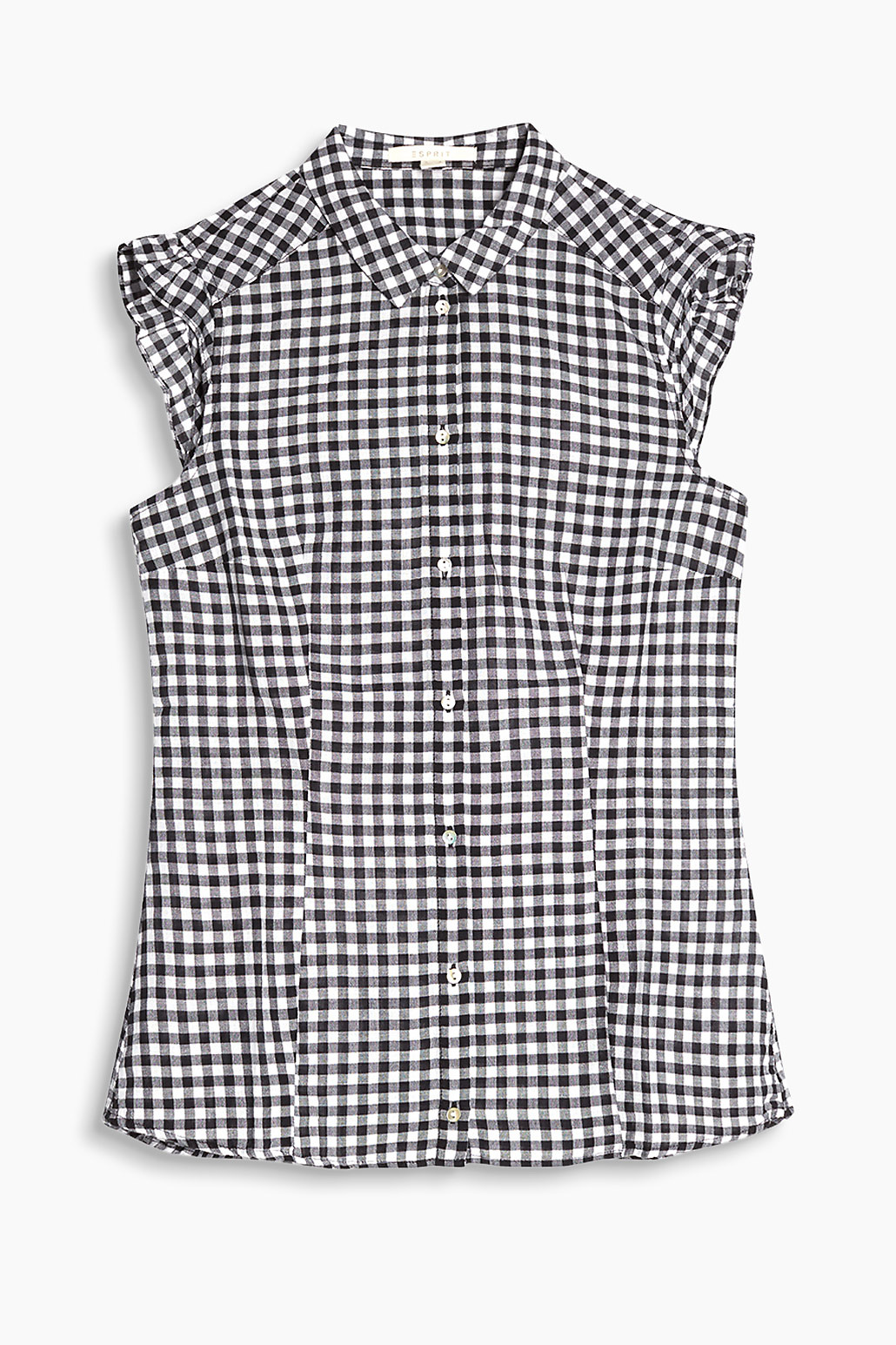 df93c82227bb7 Gingham Check blouse in 100% cotton