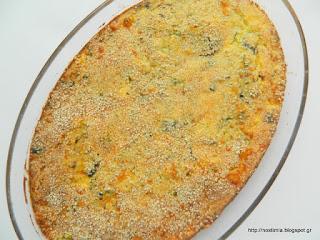 Υπέροχη τυρένια μανιταρόπιτα χωρίς φύλλο