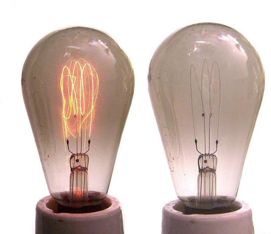 carbon filament lamp