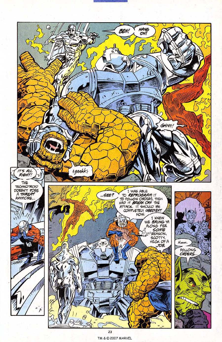 Read online Silver Surfer (1987) comic -  Issue #95 - 25
