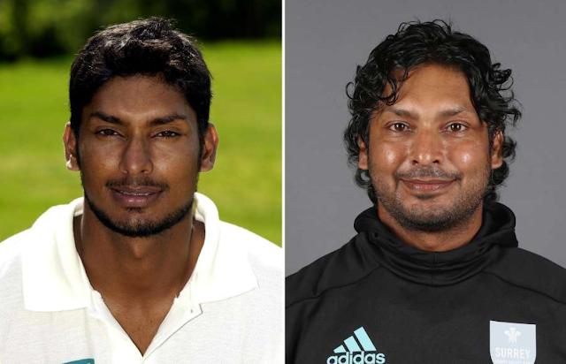 Kumar Sangakkara then and now