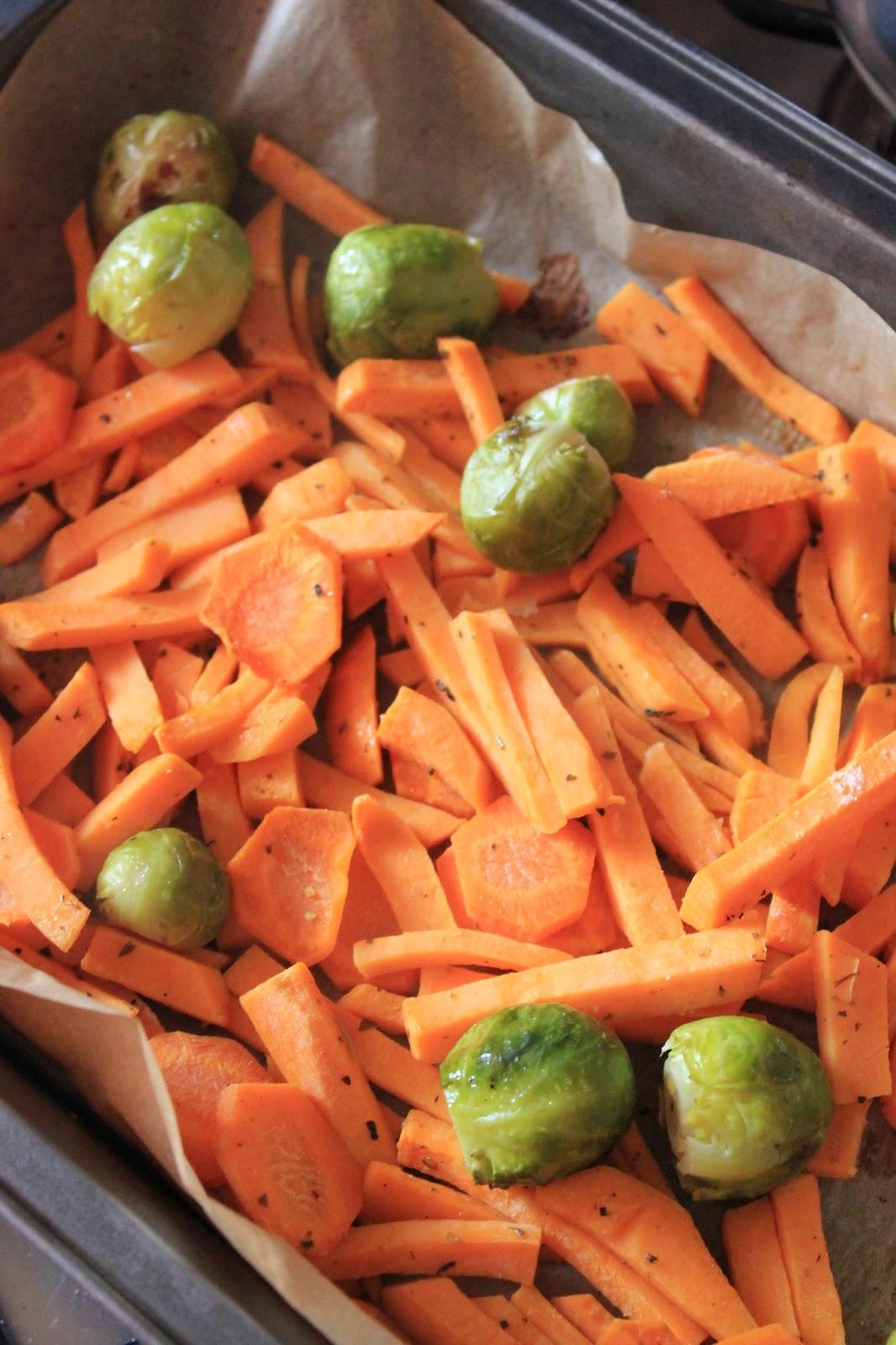 Blw Warzywa Pieczone Dla Niemowlaka Tysia Gotuje Blog Kulinarny