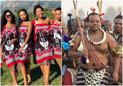 Image result for images of King of Swaziland orders men to marry more than 2 wives or face Jail