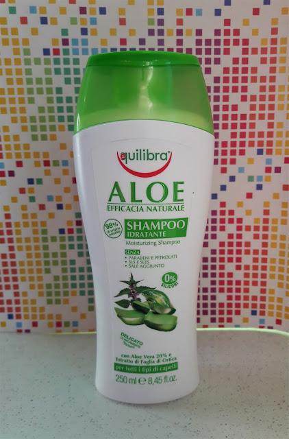 Equilibra nawilżający szampon aloesowy