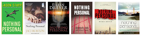 "Six books with the title ""Nothing Personal"""