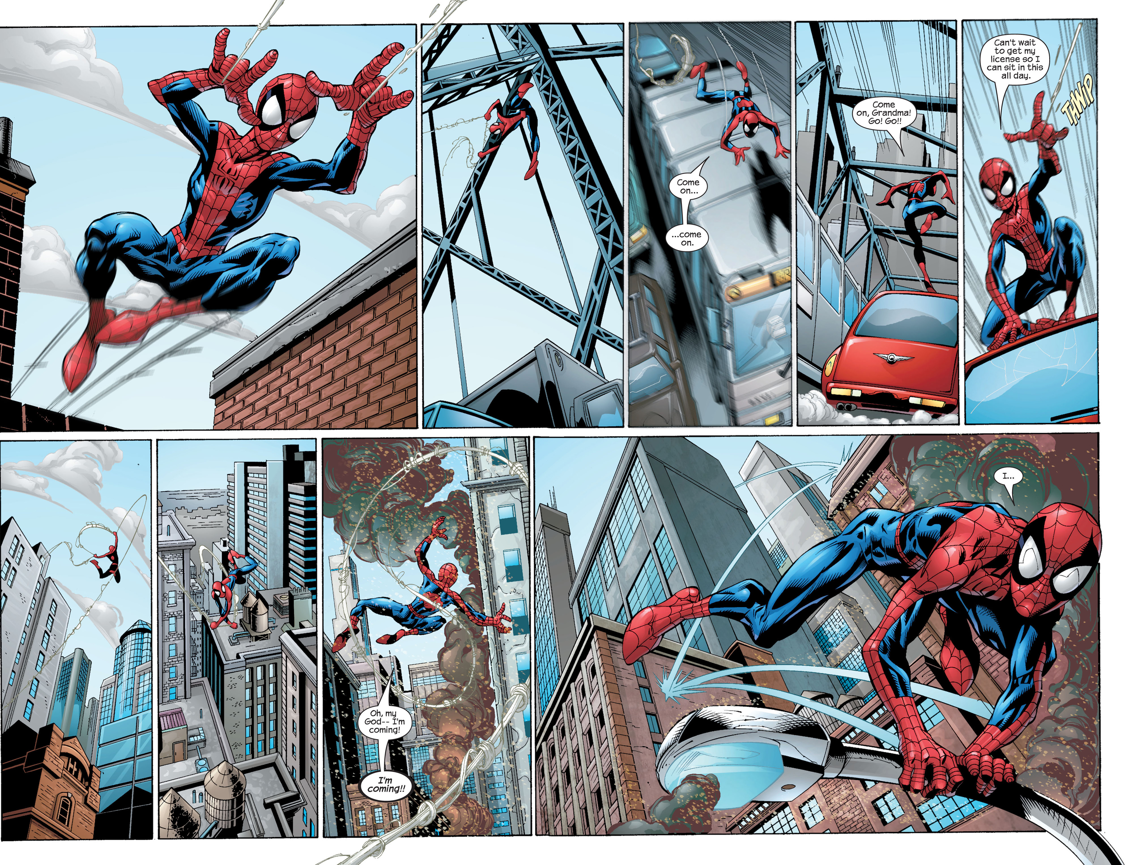 Read online Ultimate Spider-Man (2000) comic -  Issue #28 - 20
