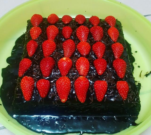 Kek Coklat yang Gebu dan Sedap