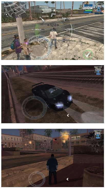 GTA SA Mod GTA V For Android