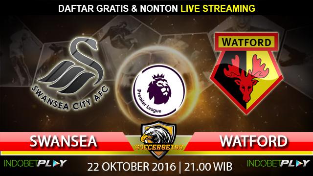 Prediksi Swansea vs Watford 22 Oktober 2016 (Liga Inggris)