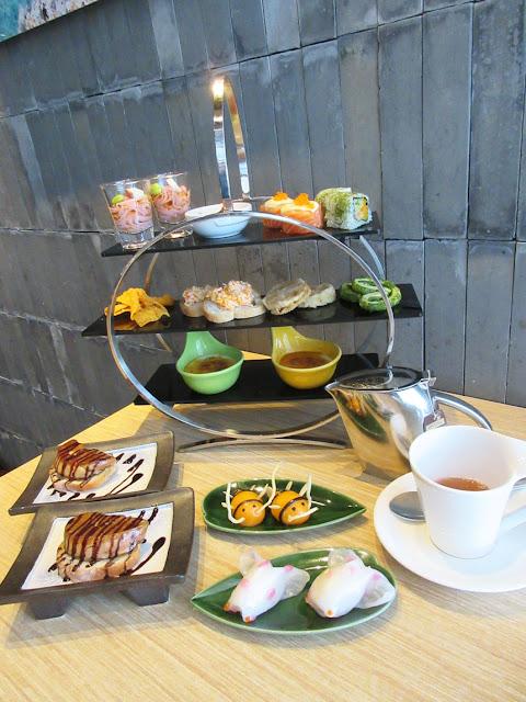 稻(日本料理) INA by Inagiku - 盛夏中日下午茶 ~ 經濟的酒店級下午茶