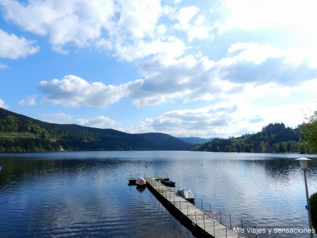 El Lago Titisee, Selva Negra, Alemania