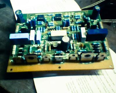 2800W power amplifier circuit