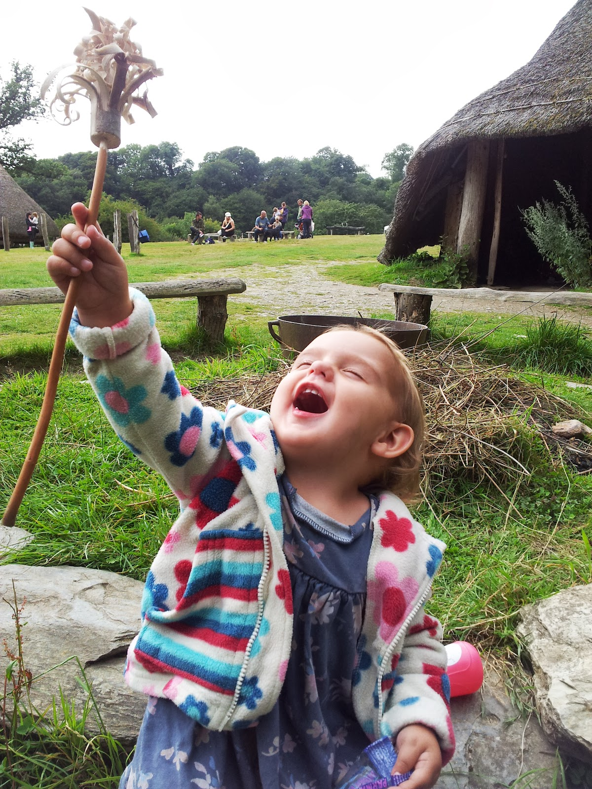 , Castell Henllys- Iron Age Fort, Pembrokeshire, Wales #CountryKids