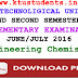 Question Paper for Engineering Chemistry(CY100)-Supplementary Examination June/July 2016