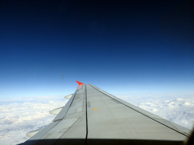 aeroplane, airlines, Air India, mountains, Himalayas