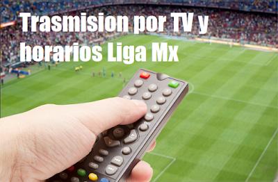 Calendario y Programacion en TV jornada 10 de futbol mexicano