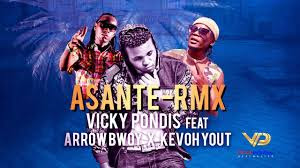Video Vicky Pondis Ft Arrow Bwoy & Kevoh Yout - Asante Remix Mp4 Download