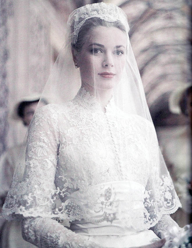 Grace Kelly's wedding veil