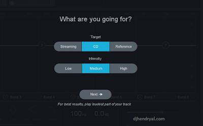 plugin ini bisa Mastering lagu secara otomatis
