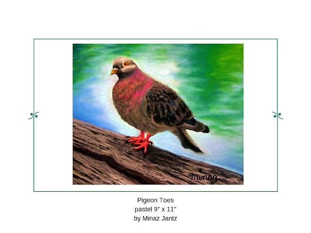 Pigeon Toes by Minaz Jantz