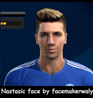 PES 2013 Nastasic Face by Facemaker Waly