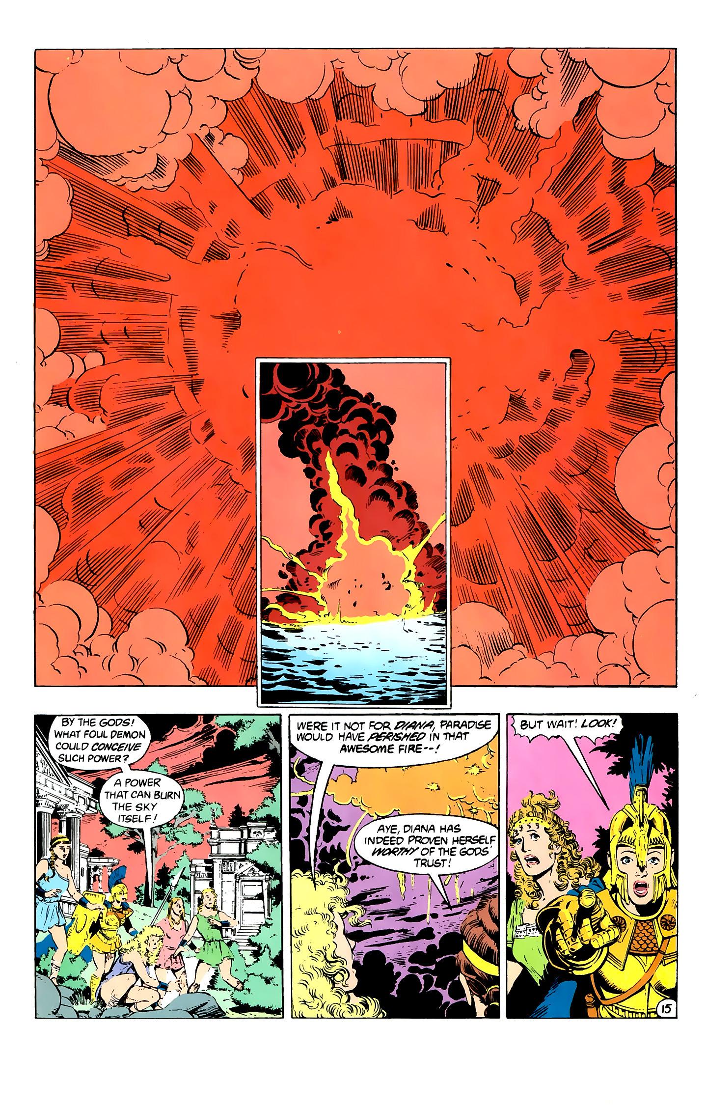 Read online Wonder Woman (1987) comic -  Issue #2 - 16
