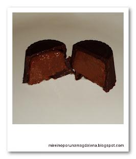 Bombones de chocolate y trufa