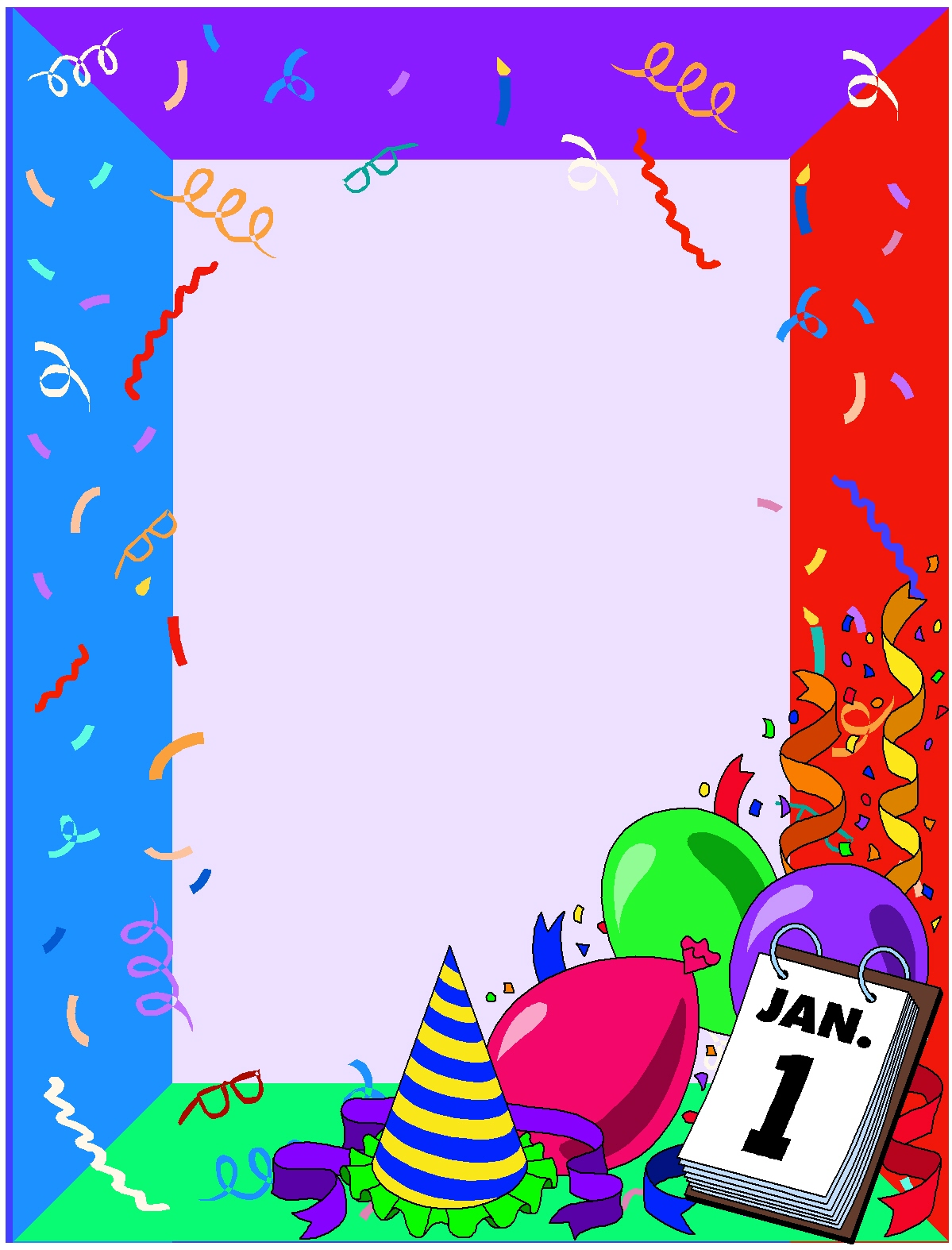 Christian Images In My Treasure Box: New Years Borders ...