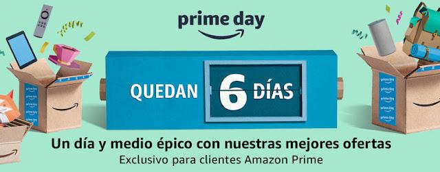 12 ofertas Quedan 6 días para el Amazon Prime Day