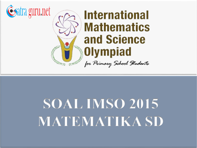 Soal IMSO Matematika 2015