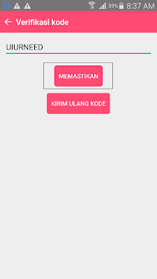 verifikasi Aplikasi Licorice Indonesia