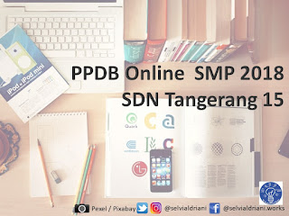 Ikhtisar peta PPDB Online untuk SDN Tangerang 15