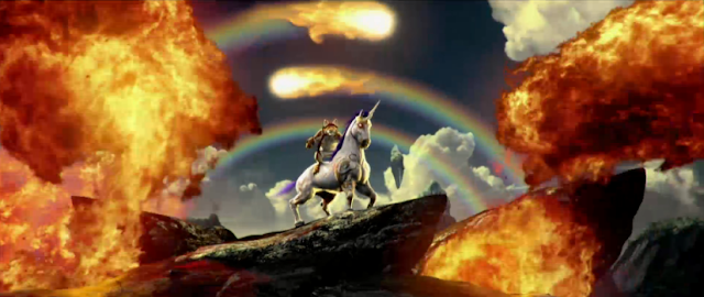 Trials Fusion: Awesome Level MAX cat unicorn flaming golden gun Ubisoft