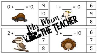 https://www.teacherspayteachers.com/Product/Australian-Animals-Friends-of-Ten-Clip-Cards-2309202