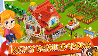 Happy Farm-Candy Day - Game Peternakan dan Pertanian Android Terbaik