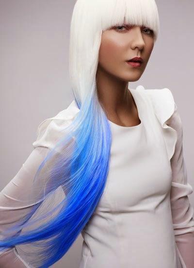 Haarfarbe rausziehen blond