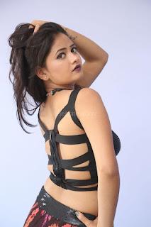 Shriya Vyas in a Tight Backless Sleeveless Crop top and Skirt 91.JPG
