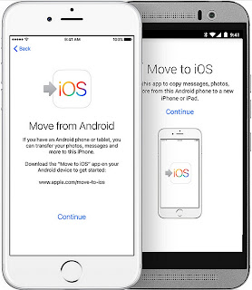 Move Android to iPhone, iPad, or iPod touch Manual
