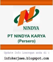Kali ini admin kembali akan menyebarkan info loker terbaru Lowongan Kerja BUMN PT Nindya Karya