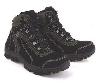 Sepatu Touring Cibaduyut Kulit Asli LER 454