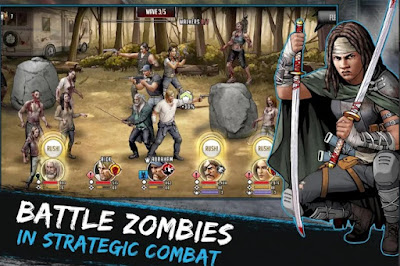 The Walking Dead: Road to Survival Apk + Data for Android