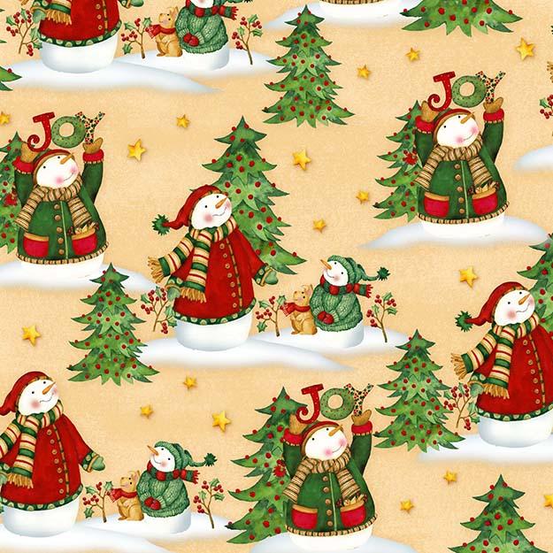 Ye Olde Fabric Shoppe Hello Snow By Debi Hron For Henry